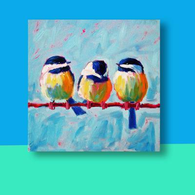 Vogeltjes 1080 x 1080