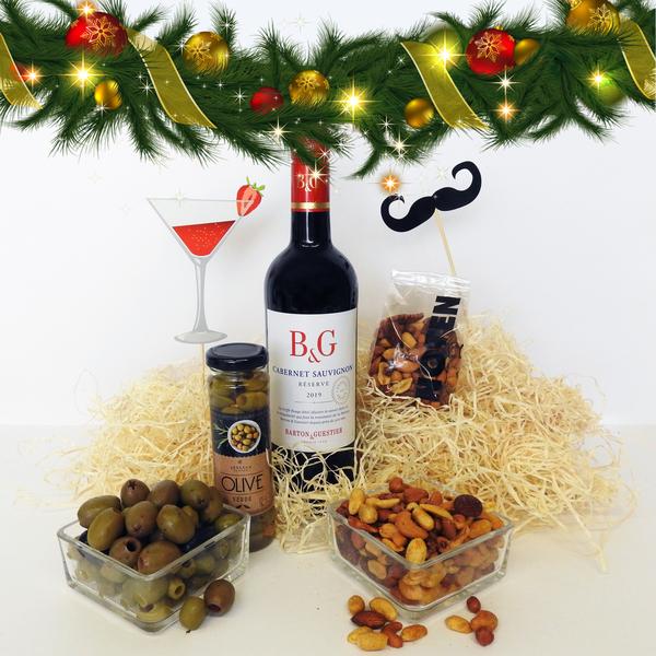 Kerst pakket Rode wijn