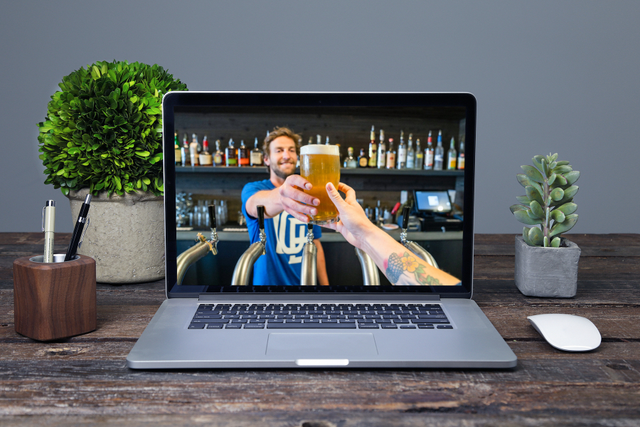 Online Borrel en Bedrijfsuitje