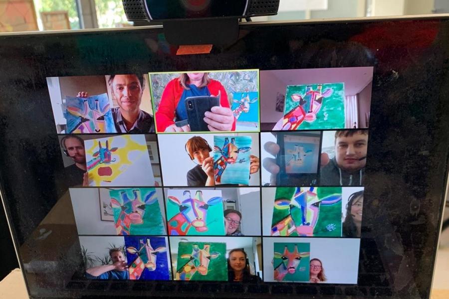 Online Creatieve Workshop