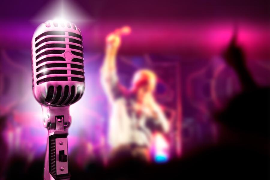 Online Muziek Quiz Microfoon