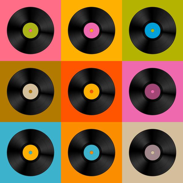 Online Muziek Quiz Retro Vinyl
