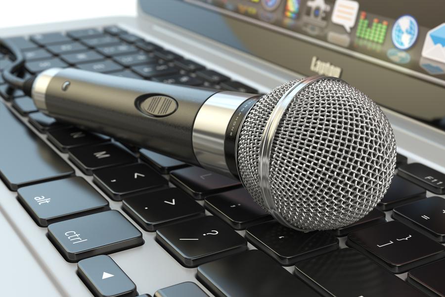 Online Muziek Quiz Laptop
