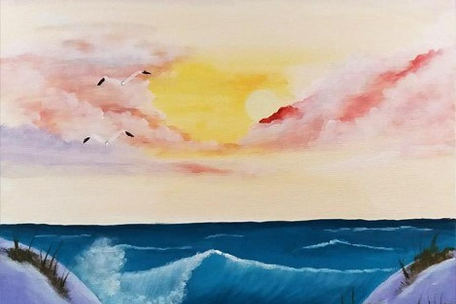 Happy Painting Duinen