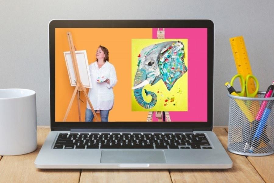 Online Schilderworkshop