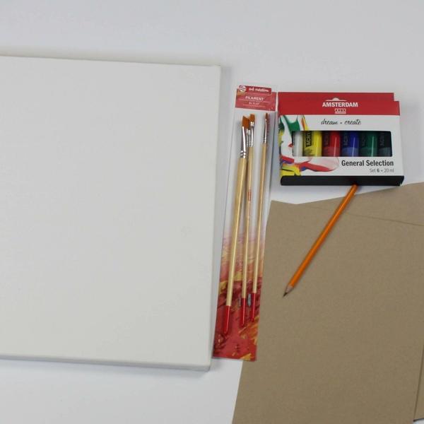 Materialen DIY Workshop Naaktmodel