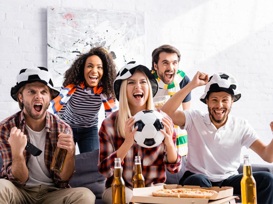 Voetbalquiz met vrienden