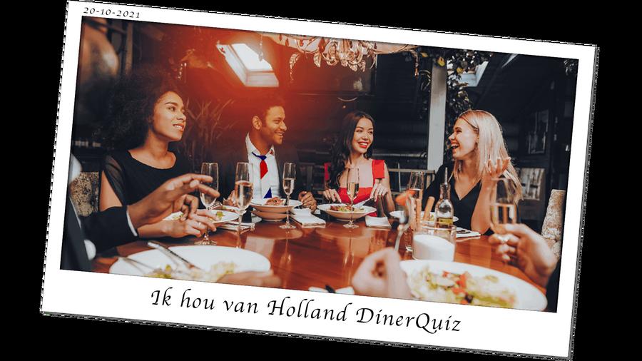 Ik hou Holland DinerQuiz