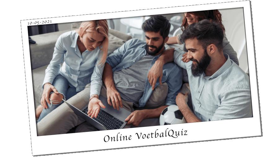 Online Voetbal Quiz Hero image