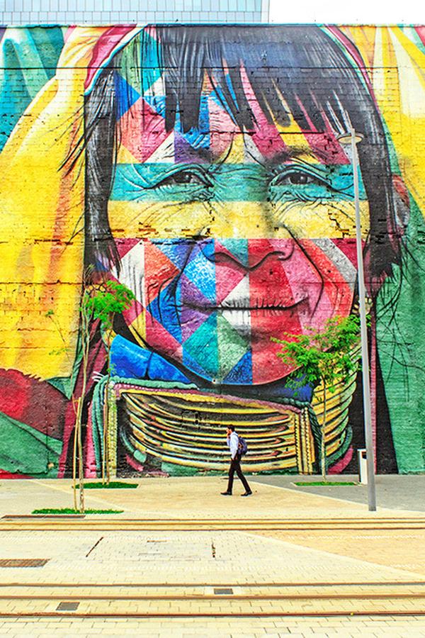 Graffiti Muur