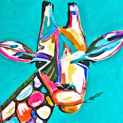 Workshop Schilderen Dieren Giraffe