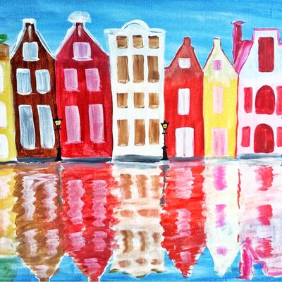 Workshop Schilderen Monumenten Amsterdamse Gracht