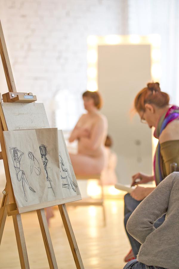 Aktmalerei-Workshop