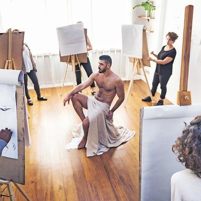 Naakt schilderen Alkmaar