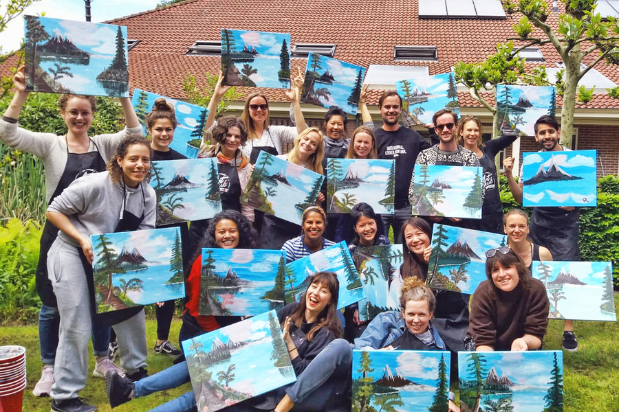 Happy Painting Workshop