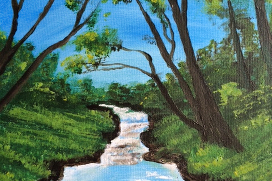 Happy Painting rivier