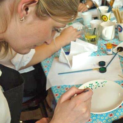 Servies rotterdam schilderen