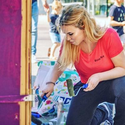 Graffiti kunstenaar alkmaar