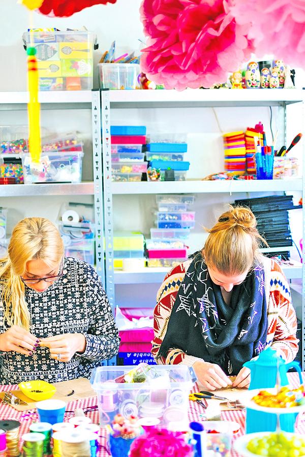 Creatieve workshops voor vrouwen