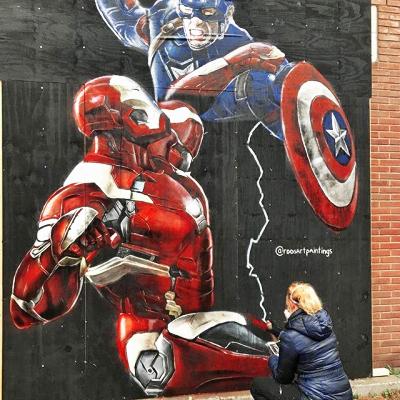 Graffiti artiest Utrecht