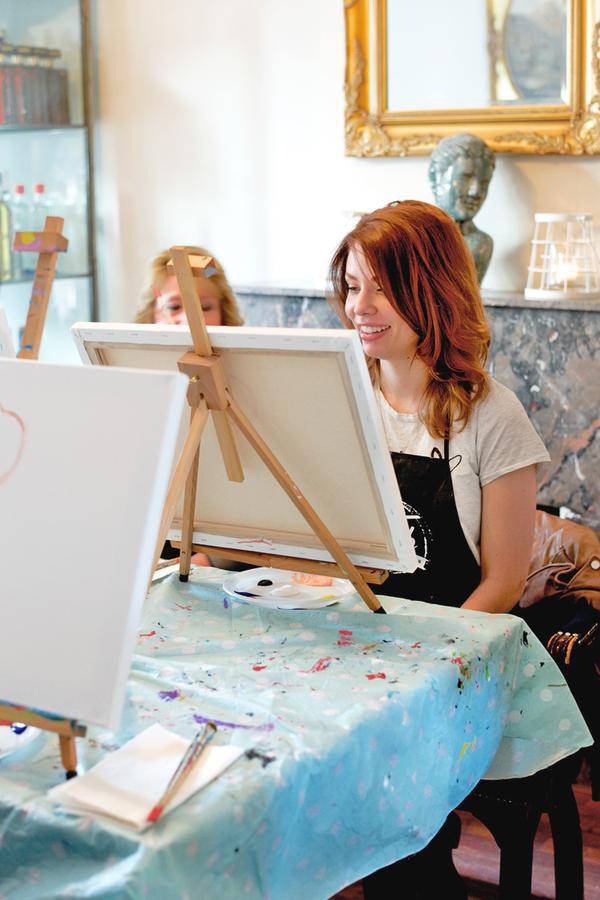 Workshop schilderen Den Haag