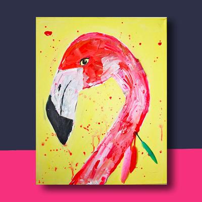 Flamingo Portret website