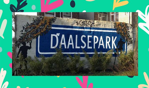 Daalsepark Sign