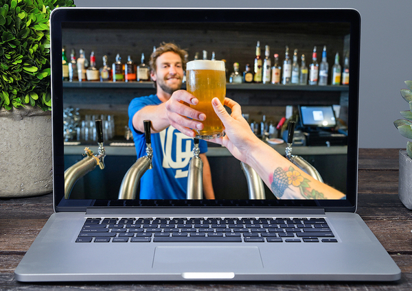 Online Viruteel borrel bier