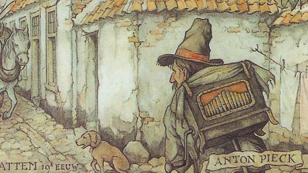 Anton Pieck Efteling Er Was Eens