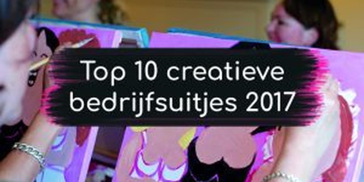 Top 10 creatieve bedrijfsuitjes