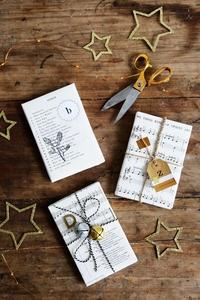 Christmas Carol Gift Wrap