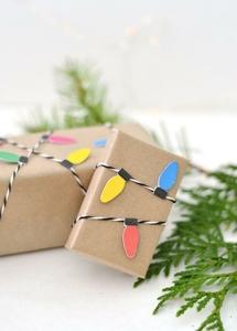 Christmas Light Wrapping