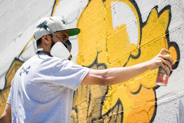 Graffiti kunstenaar