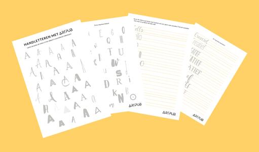 Handlettersheets