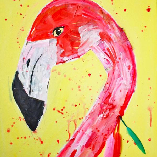 Flamingo Portret Basis