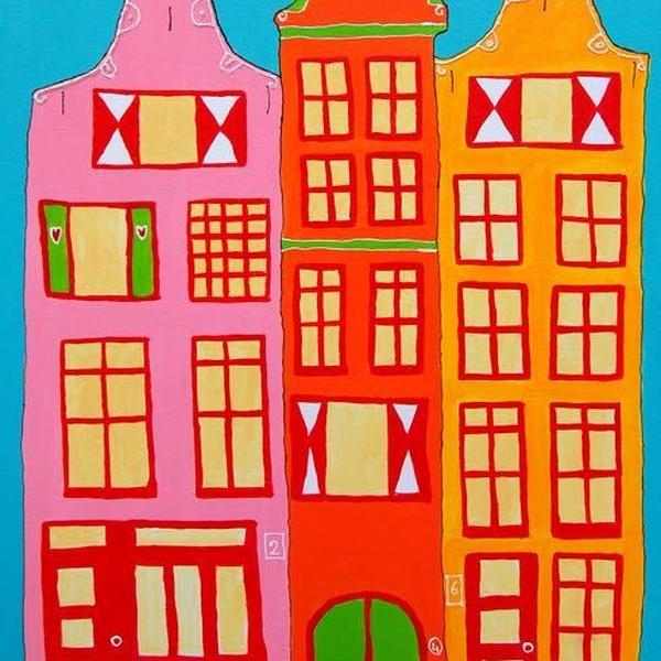 Monumenten Amsterdamse Huisjes