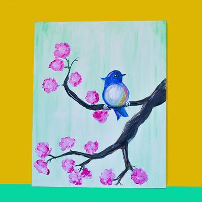 Birdybloesem Klein