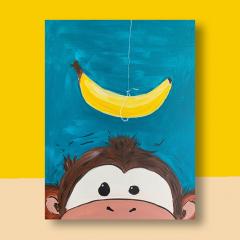 Zin in banaan