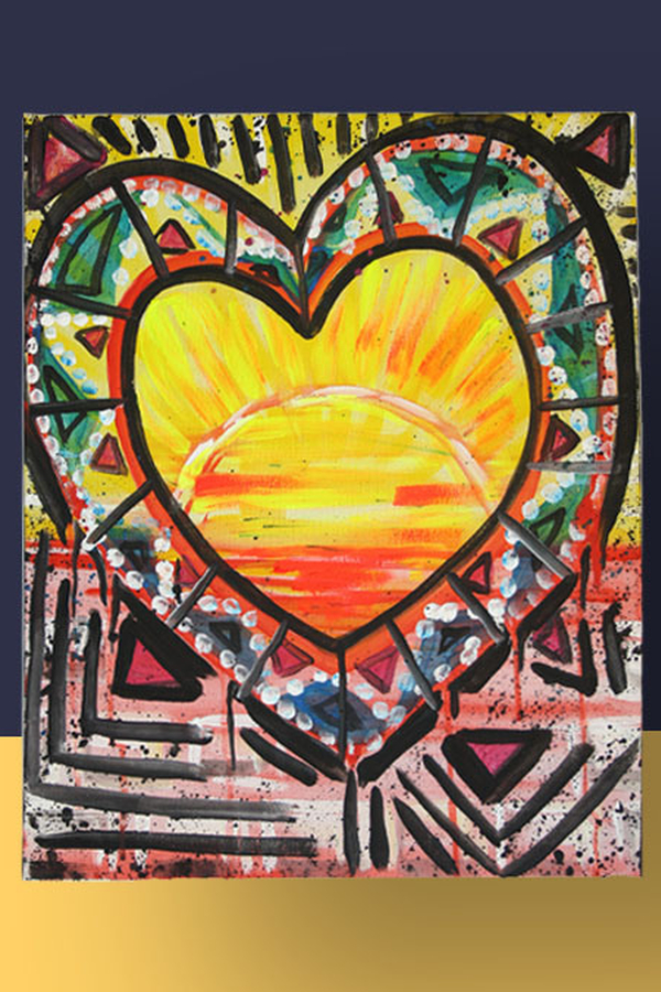 Schilderij Inclusief Kleuren