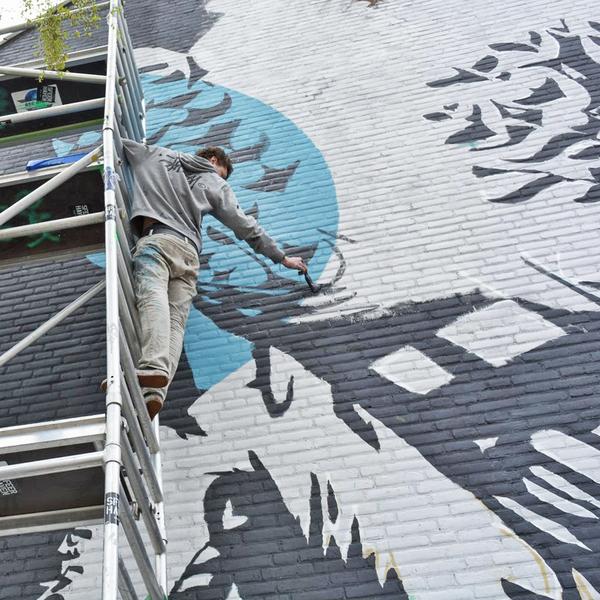 Mick Graffiti kunstenaar Alkmaar