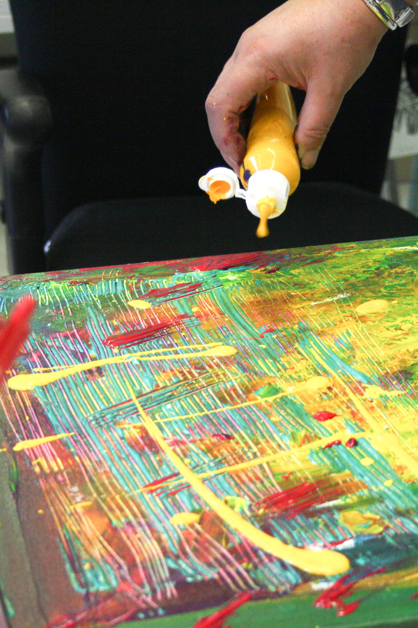Live action painting nederland