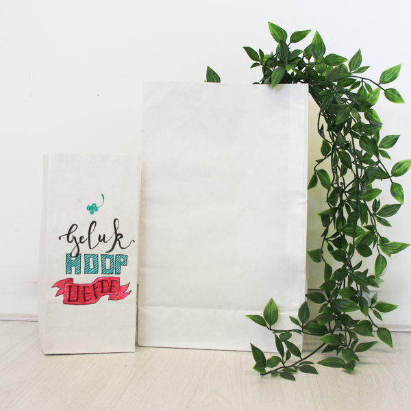 Workshop Paperbag Letteren