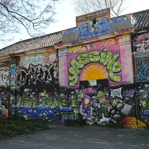 Graffiti spuiten Alkmaar