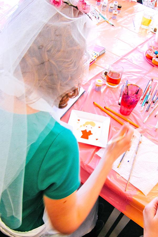 Creatieve workshop vrijgezellenfeest