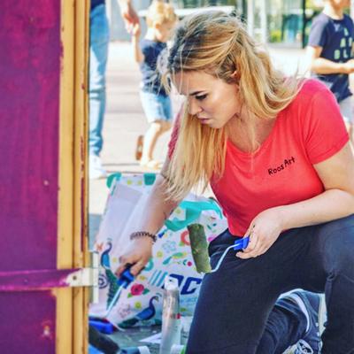 Graffiti kunstenaar Utrecht