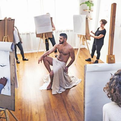 Naaktportret schilderen utrecht