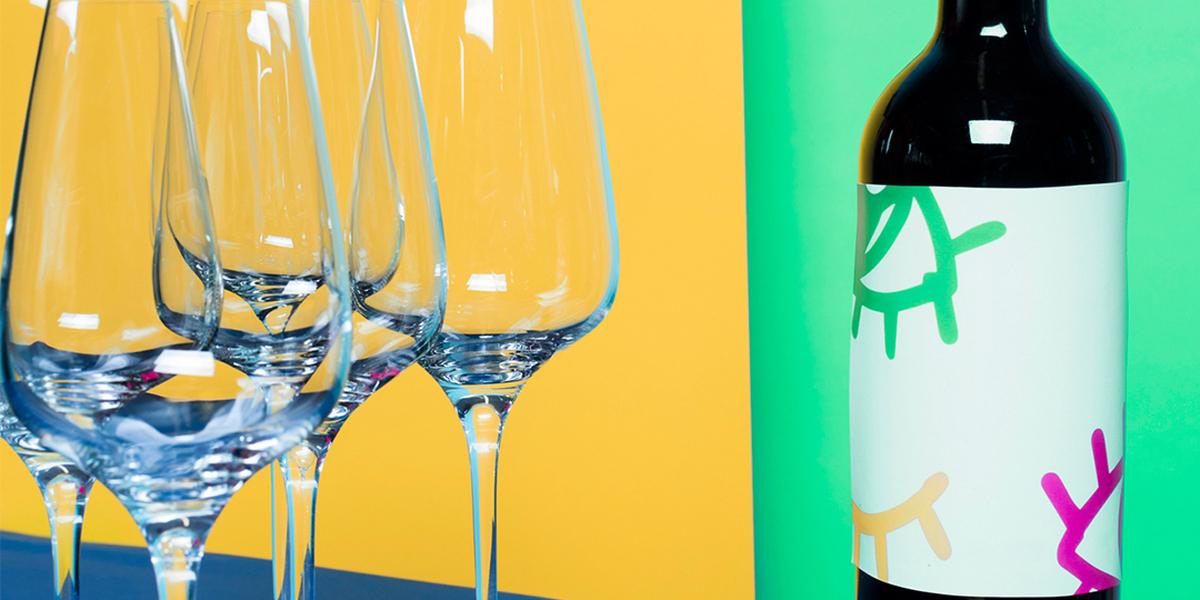 Glas en wijn