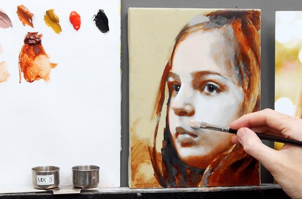 Oil Paint Glaze Recipe