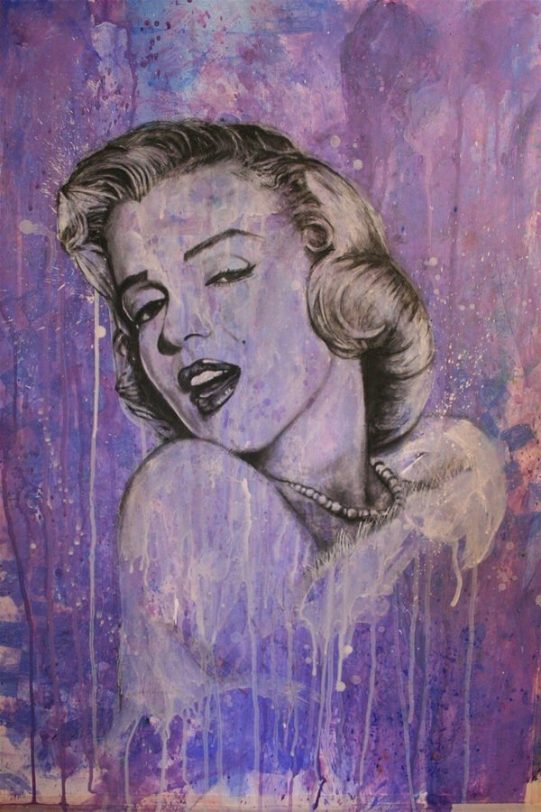 Marilyn Monroe  Mixed Media By Shawnie B
