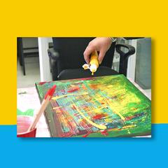 Action Painting op Locatie